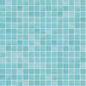"Blue Aura, 3/4"" x 3/4"" - Glass Tile"