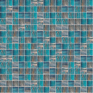 Brillante 245, 3/4 x 3/4 Mosaic Tile | TREND Glass Mosaic Tile