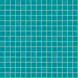 "Amazonite, 3/4"" x 3/4"" - Glass Tile"