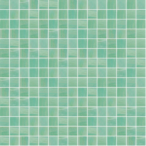 "Sea Foam, 3/4"" x 3/4"" - Glass Tile"