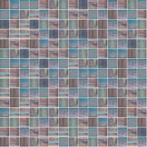 Shining 838, 3/4 x 3/4 Mosaic Tile | TREND Glass Mosaic Tile