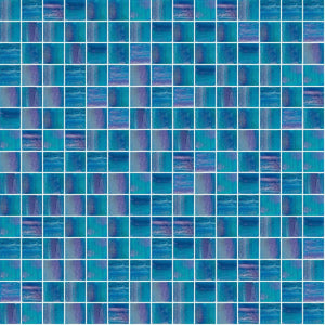 Shining 844, 3/4 x 3/4 Mosaic Tile | TREND Glass Mosaic Tile