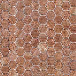 Brillante 222 Hexagon Tile | TREND Glass Mosaic Tile