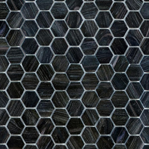 Moon Dust, Hexagonal | ABG260H | Mosaic Glass Tile