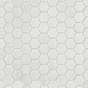 Snowflake, Hexagonal | ABG280H | Mosaic Glass Tile