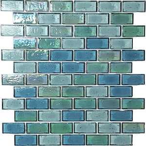 "AGMSUPEPIER12 - Aquatica Pier, 1"" x 2"" - Glass Tile"