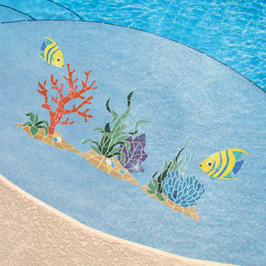 Reef Accent, Seagrass | RSEPUROM | Pool Mosaic