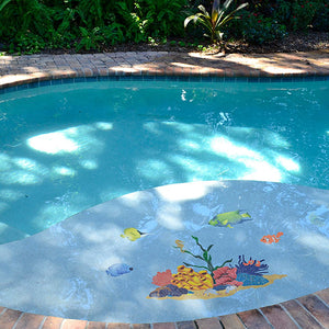 Tropical Reef | TREMCOM | Pool Mosaic by Artistry in Mosaics