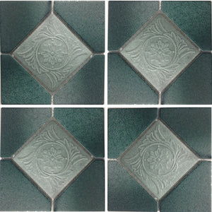 "ALCO-501 - Nature Green, 6"" x 6"" - Porcelain Pool Tile - Fujiwa"