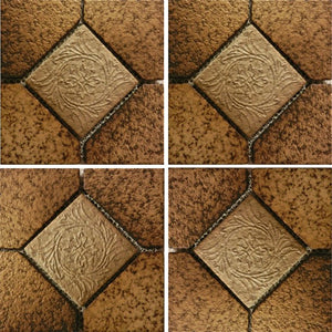 "ALCO-504 - Nature Brick, 6"" x 6"" - Porcelain Pool Tile - Fujiwa"
