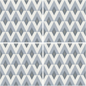 "APEFIORFIOR6 Aquatica Fiorella, 6"" x 6"" (1 box, 22 pcs) - Porcelain Pool Tile"