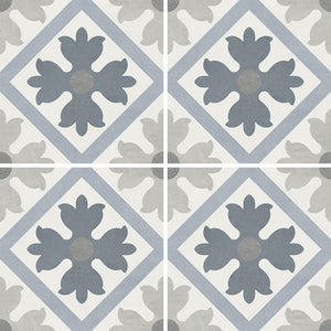 "APEFIORMARTIA6 Aquatica Martia, 6"" x 6"" (1 box, 22 pcs) - Porcelain Pool Tile"