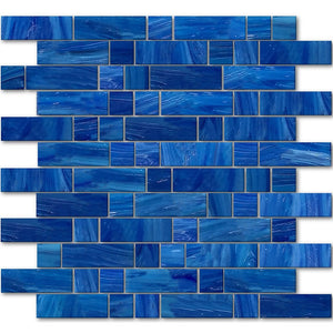 AVEDASHLABR13 - Aquatica Labrador, Mixed Linear - Glass Tile