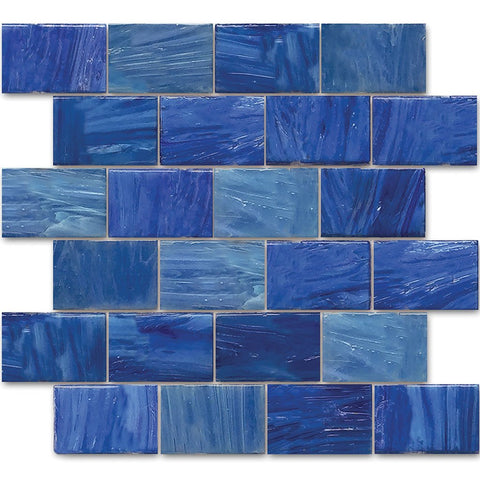 "AVEGARDAEGEAN23 - Aquatica Aegean, 2"" x 3"" - Glass Tile"