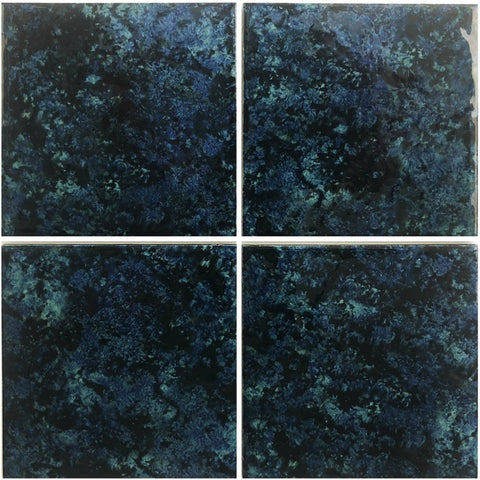 "Sea Green, 6"" x 6"" - Porcelain Pool Tile"