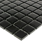 "Nero, 1"" x 1"" - Glass Tile"