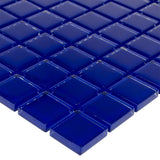 "Cobalt, 1"" x 1"" - Glass Tile"