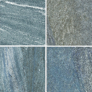 "CROSSROAD-BLUE 6"" - Fujiwa Crossroad Blue, 6"" x 6"" (4 pcs, 1 sqft) - Porcelain Pool Tile"