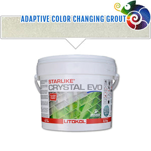 Crystal EVO 700 Translucent Epoxy Grout | Litokol Starlike Tile Grout