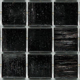 "2104 Carbon, 3/4"" x 3/4"" - Glass Tile"