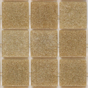 "2120 Sand, 3/4"" x 3/4"" - Glass Tile"