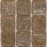 "Earth, 3/4"" x 3/4"" - Glass Tile"