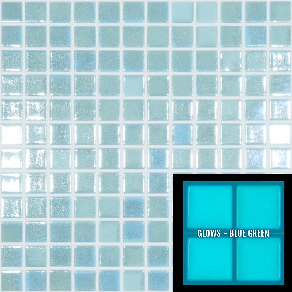 Fireglass 107 Light Blue 1 Quot X 1 Quot Fotolumi2 Vidrepur