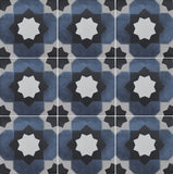 "Janette, 6"" x 6"" (1 box, 22 pcs) - Porcelain Pool Tile"