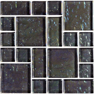 GG8M2348K8 - Graphite, Mixed - Glass Tile