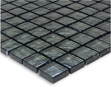 "Graphite, 1"" x 1"" - Glass Tile"