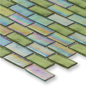 "Reef, 1"" x 2"" Staggered - Glass Tile"