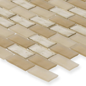 "Shore, 1"" x 2"" Staggered - Glass Tile"