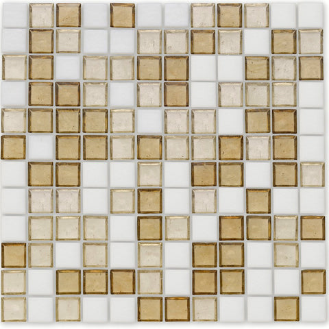 "Bay, 1"" x 1"" - Glass Tile"