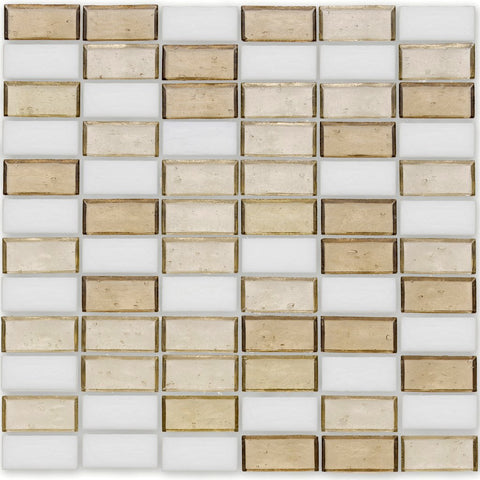 "Bay, 1"" x 2"" Stacked - Glass Tile"