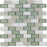 "Coast, 1"" x 2"" Staggered - Glass Tile"