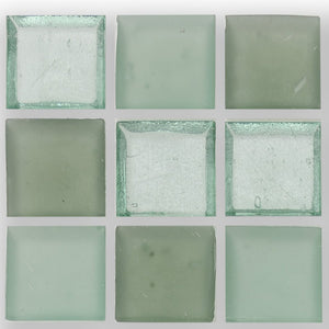 "Seafoam, 1"" x 1"" - Glass Tile"