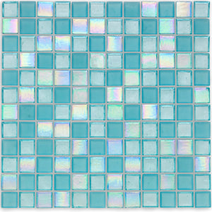 "Surf, 1"" x 1"" - Glass Tile"