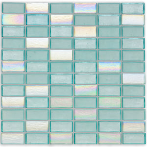 "Surf, 1"" x 2"" Stacked - Glass Tile"