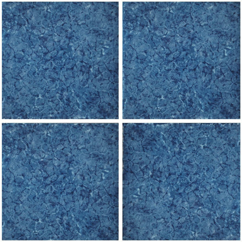 "IDRCZFUDE66PT Aquatica Denim, 6"" x 6"" (1 box, 48 pcs) - Porcelain Pool Tile"