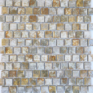 "JOYA-103 - Fujiwa Gold, 1"" x 1"" - Porcelain Pool Tile"