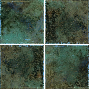"JOYA-601 - Fujiwa Verde, 6"" x 6"" (4 pcs, 1 sqft) - Porcelain Pool Tile"