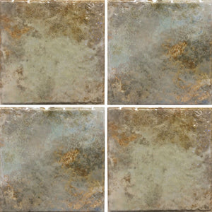 "JOYA-603 - Fujiwa Gold, 6"" x 6"" (4 pcs, 1 sqft) - Porcelain Pool Tile"