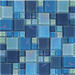 KEEKELURAAQBLBA - Aquatica Bazaar, Mixed - Glass Tile