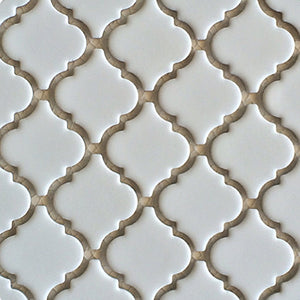 "LT-1010 - Matte White, 2"" x 2"" - Porcelain Pool Tile - Fujiwa"