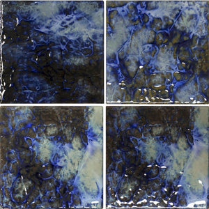 "LUNAR-671 - Blue Blend, 6"" x 6"" (4 pcs, 1 sqft) - Porcelain Pool Tile - Fujiwa"