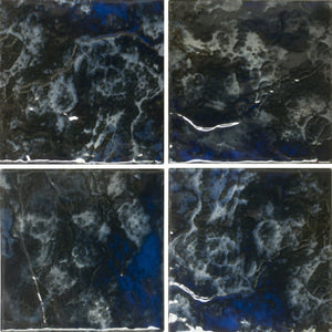 "LUNAR-672 - Midnight, 6"" x 6"" (4 pcs, 1 sqft) - Porcelain Pool Tile - Fujiwa"