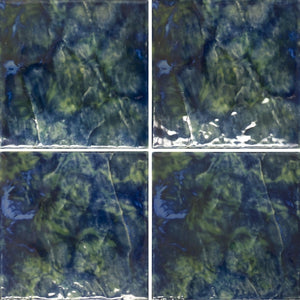 "LUNAR-674 - Emerald, 6"" x 6"" (4 pcs, 1 sqft) - Porcelain Pool Tile - Fujiwa"
