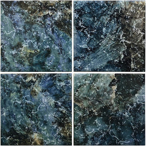 "Tropicana Blue, 6"" x 6"" - Porcelain Pool Tile"