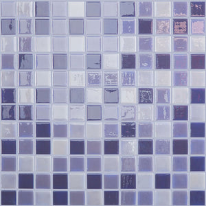 "Lila, 1"" x 1"" - Glass Tile"
