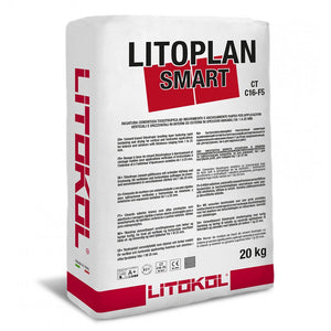 Litoplan Smart 20 kg Bag | Cementitious Leveling Agent by Litokol